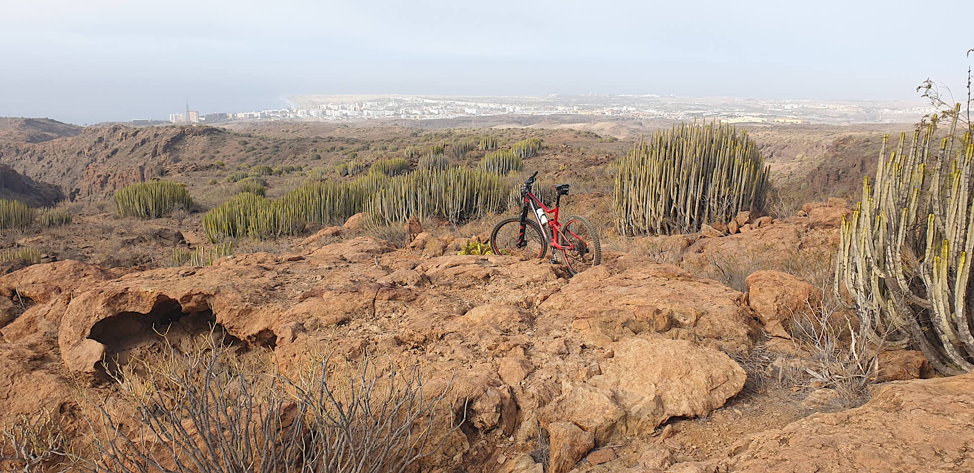 Ruta de enduro MTB - Barrando del Toro, Gran Canaria