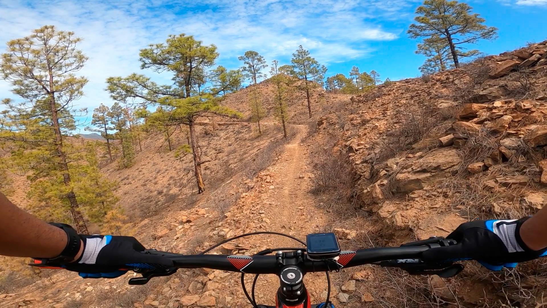 Ruta enduro MtB: Barranquillo de los Frailes - Cortadores