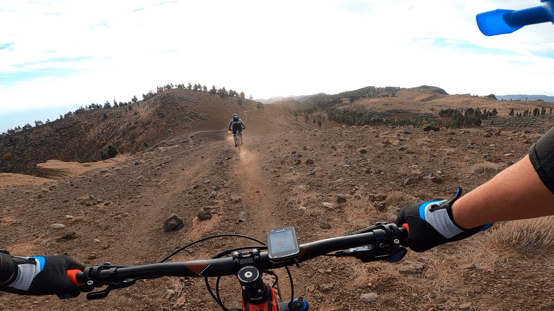 Ruta Enduro MTB en Gran Canaria, Pico de las Nieves - Ingenio