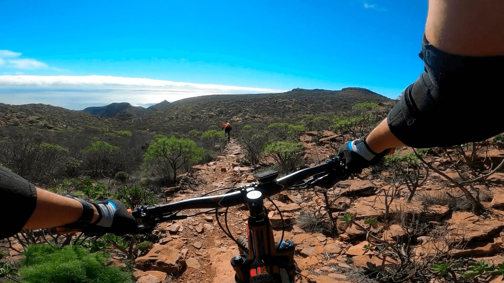 Amurga, enduro MTB en Gran Canaria