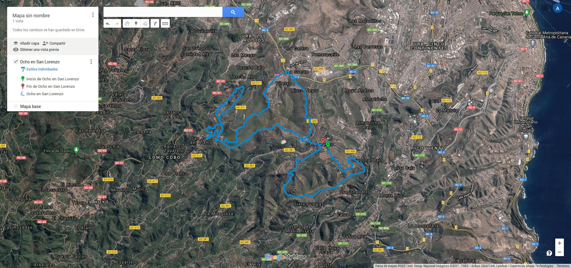GPX en Google Maps