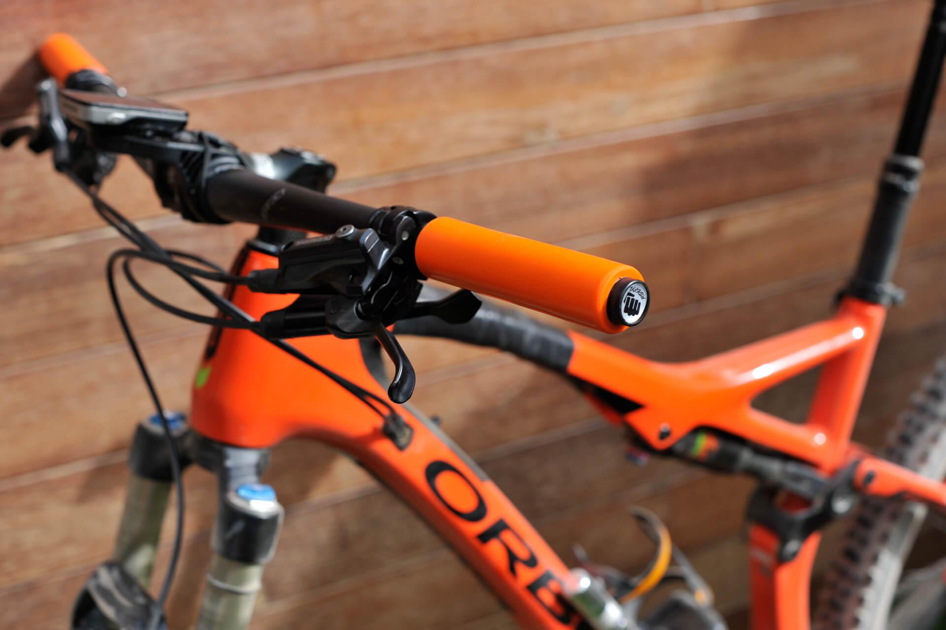 Puños de gel para MTB Ridefyl Comfy