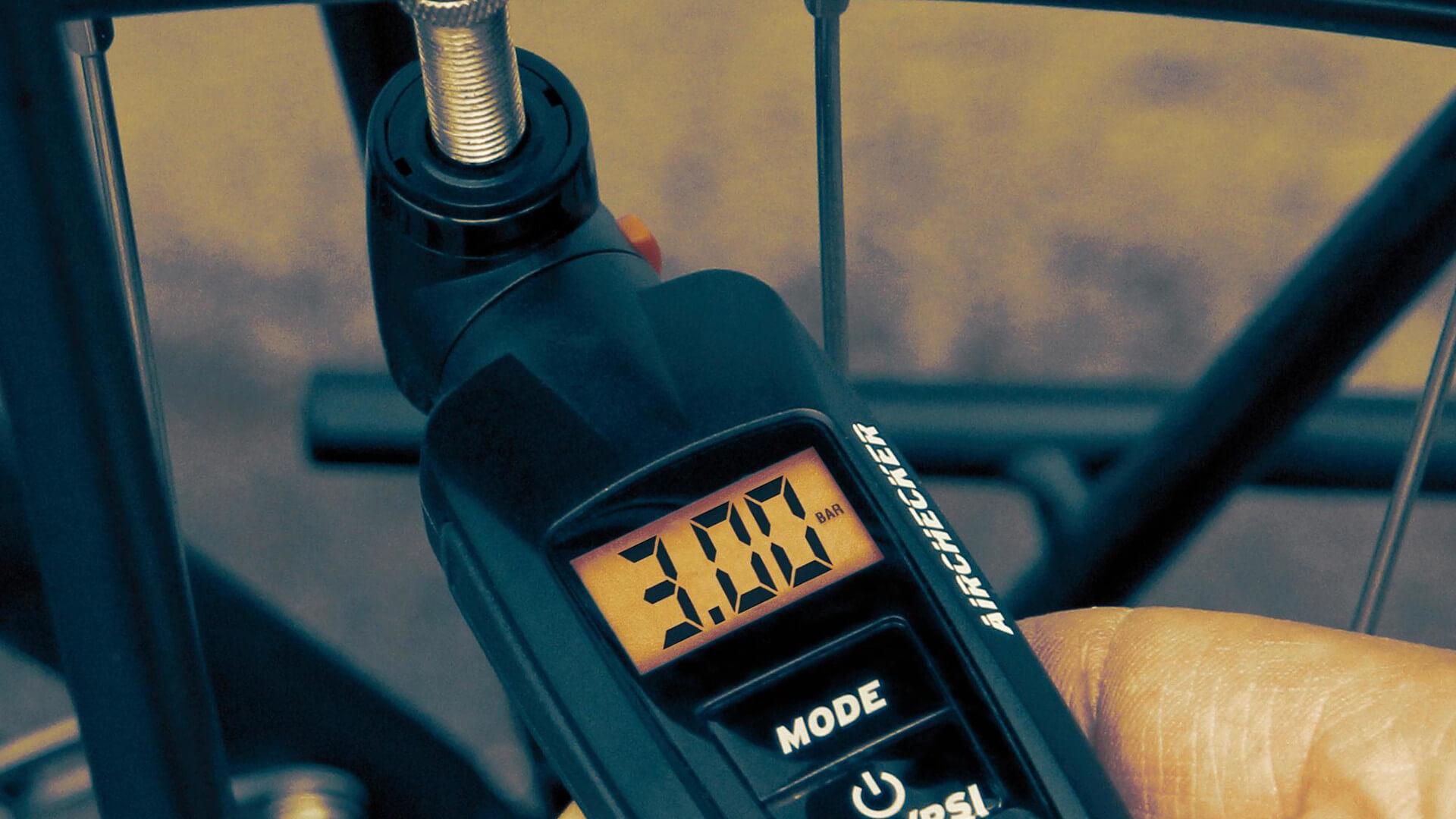 Calculadora de presiones para MTB, manómetro